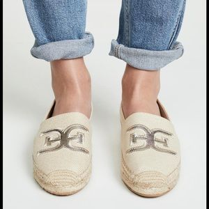 Sam Edelman Khloe Espadrille Shoes Flats Natural